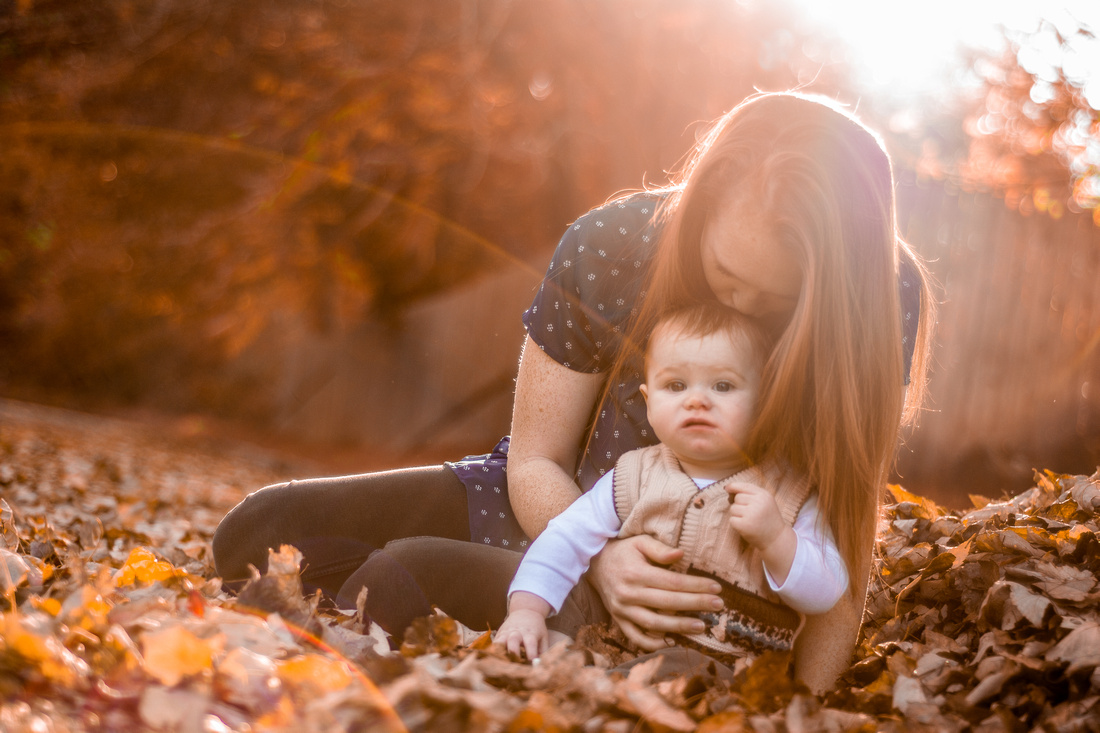 Fall Family Photography Ashley Halas Photography LLC Hamilton New Jersey Photographer