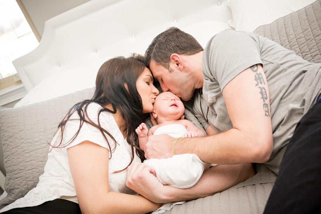 In Home Newborn Photography | Hamilton NJ Photographer | Ashley Halas Photography