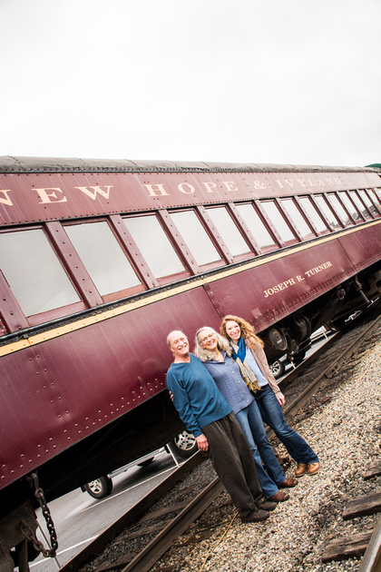 New Hope Ivy Land Rail Road Family Session | Hamilton NJ Photographer | Ashley Halas Photography
