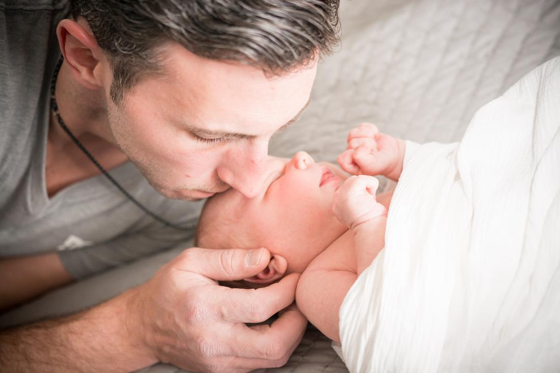 In Home Newborn Photography | Hamilton NJ Photographer | Ashley Halas Photography