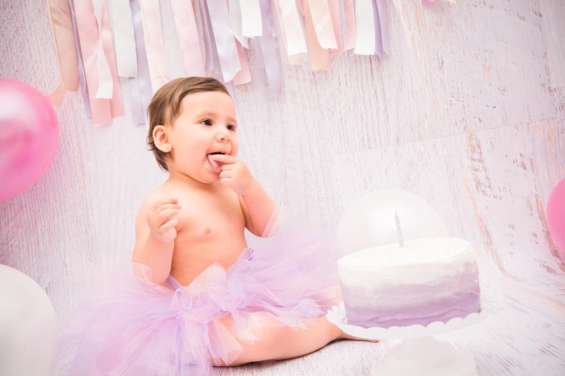 First Birthday & Cake Smash Session Ashley Halas Photography LLC Hamilton NJ