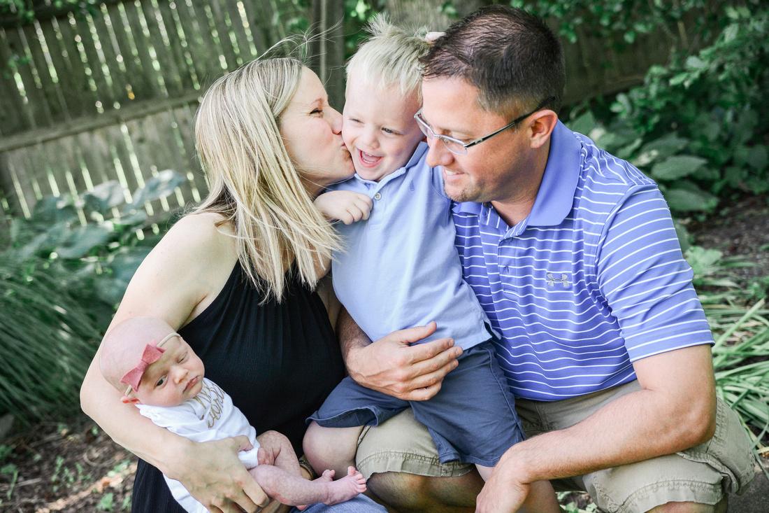 Newborn Photography | Newborn Girl | Newborn Family Photography | Ashley Halas Photography LLC Hamilton New Jersey Photographer