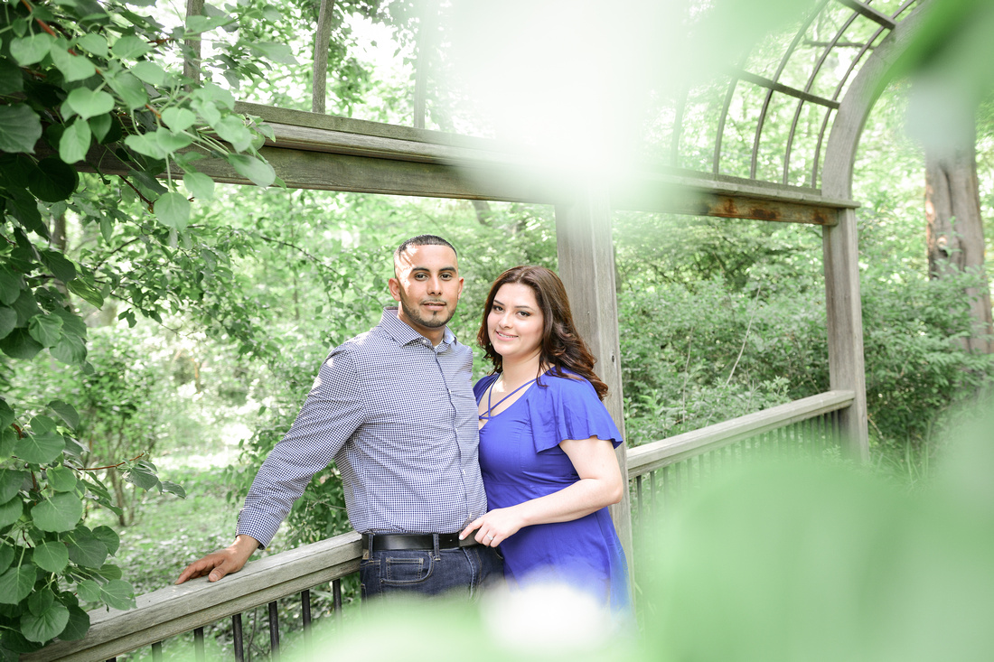 Engagement Session Sayen Gardens Ashley Halas Photography LLC Hamilton NJ Photographer