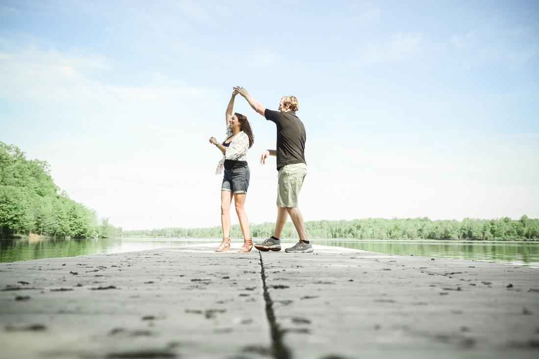 Mercer County Park Marnina Engagement Session | Hamilton, New Jersey Photographer Ashley Halas Photography