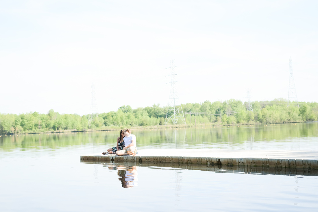 Mercer County Park Marnina Engagement Session | Hamilton, New Jersey Photographer Ashley Halas Photography