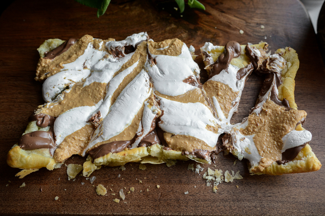 S'mores Pastry Pizza | Food Styling and Photography Ashley Halas Photography Hamilton New Jersey
