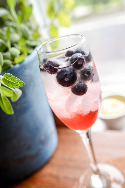 The Perfect Red White & Blue Cocktail  Ashley Halas Photography LLC Hamilton New Jersey Food Photographer