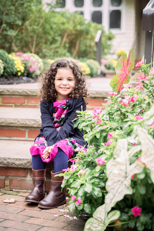 Family Photo Session Sayen Gardens Ashley Halas Photography Hamilton NJ