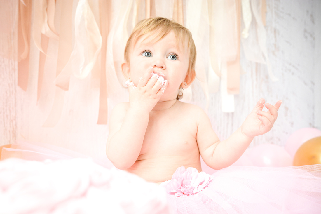 First Birthday & Cake Smash Session Ashley Halas Photography LLC Hamilton NJ