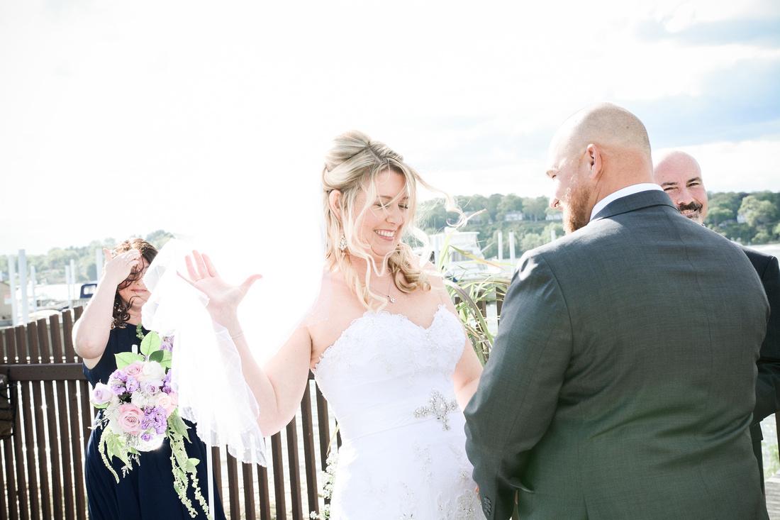 South Jersey Wedding | Rumson Salt Creek Grille | Intimate Wedding Erin & Jim | Hamilton New Jersey Wedding Photographer Ashley Halas Photography LLC